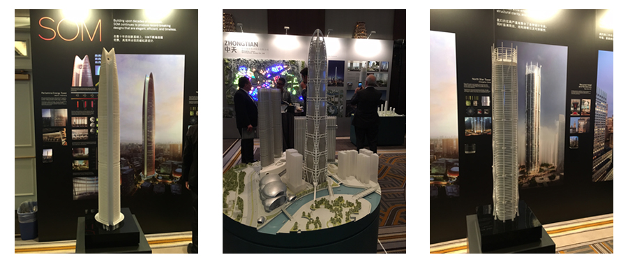 Another sample of projects on display at CTBUH 2015.
